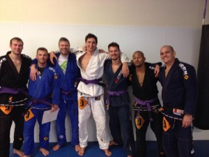 new Purble belts BJJ Delft ICON