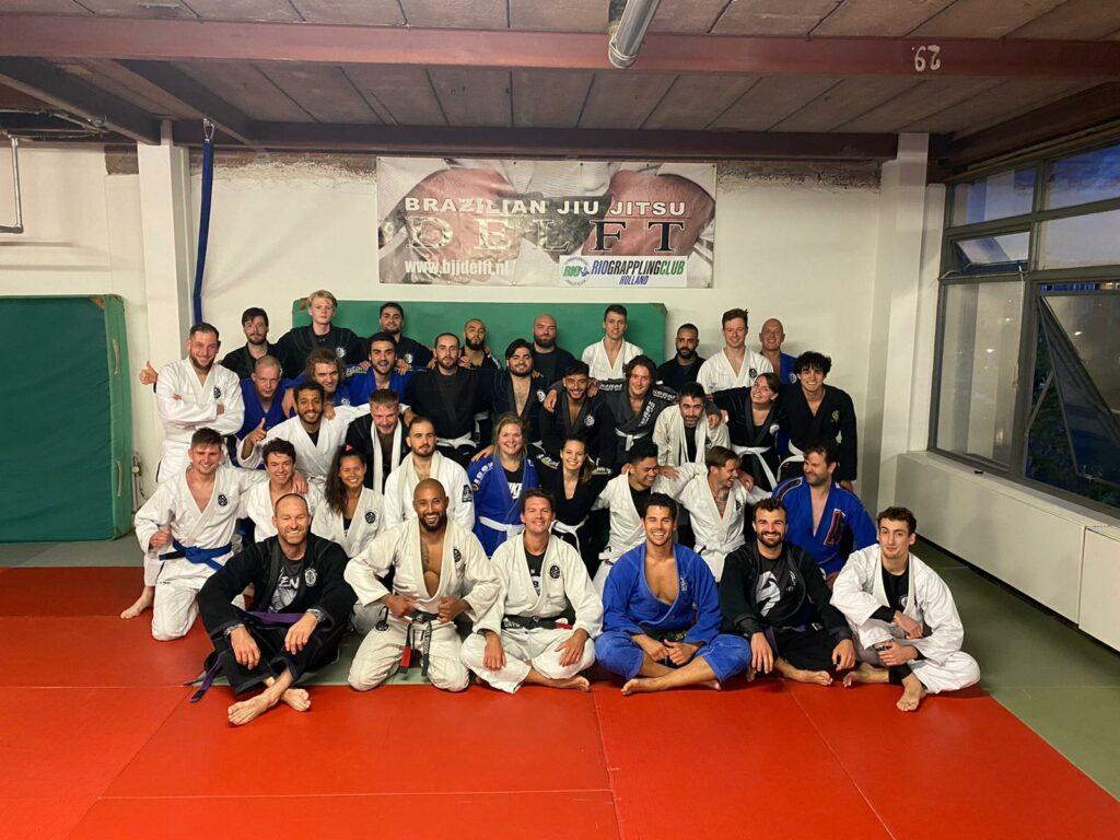 White belt BJJ Delft