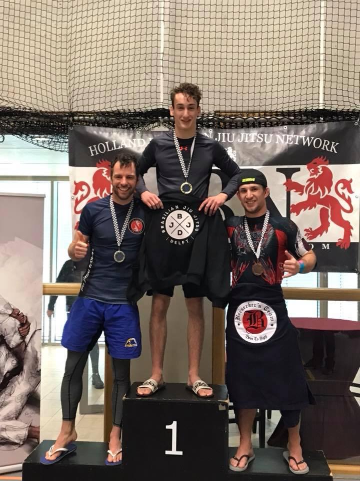 BJJ Delft Angelo 1st place