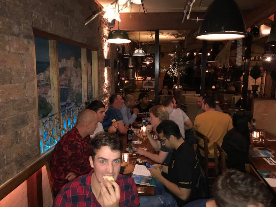 BJJ Delft Team Dinner 2