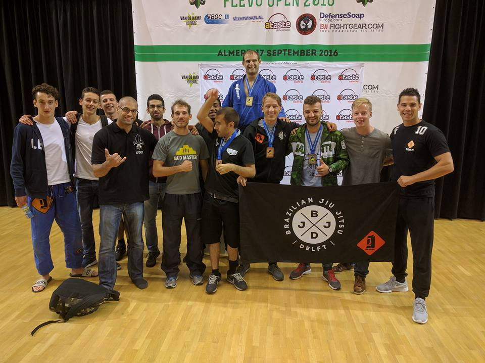 BJJ Delft at Flevo Open