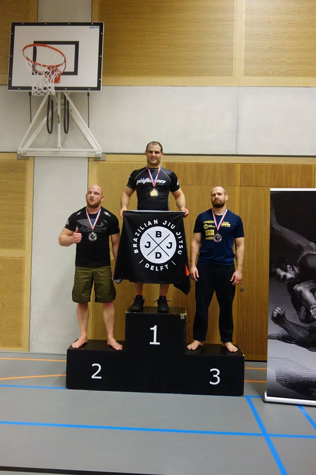 Brian BJJ Delft submission Only