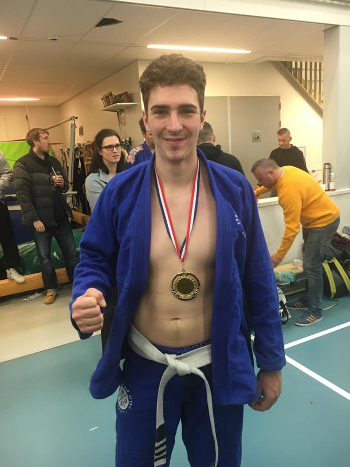 Lars 1 BJJ Delft ICON Dutch open