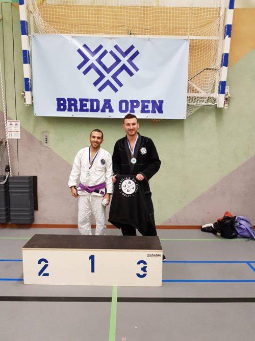 Piotr Giac BJJ Delft Medals