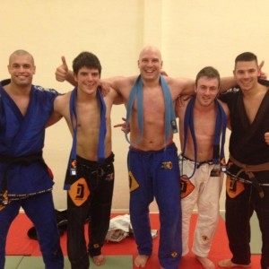 new blue belts BJJ Delft ICON
